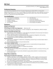 Anti Terrorism Officer Sle Resume by Professional Sergeant Templates To Showcase Your Talent Myperfectresume