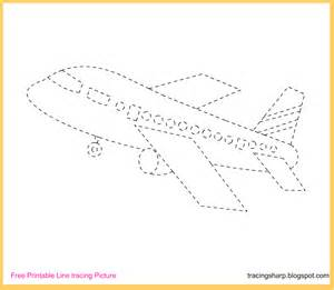 Trace Image Online Free Coloring Pages Of Trace Aeroplane