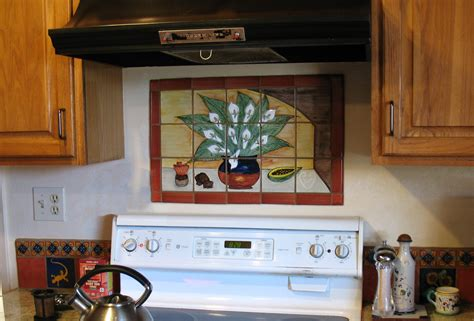 mexican tile mural backsplash mexican home decor gallery