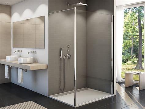 duschabtrennung feststehend freistehende duschabtrennung 120 x 200 cm dusche