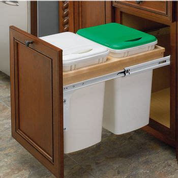 best under cabinet garbage pull out pull out waste bins