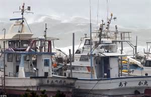 video of fishing boat getting run over super typhoon vongfong hits and 200 000 flee their homes