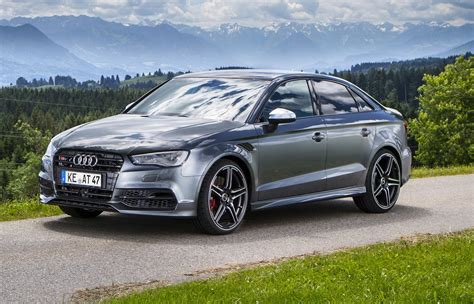 Audi S3 Sedan by Abt Gives Audi S3 Sedan More Power Than Rs3 Carscoops