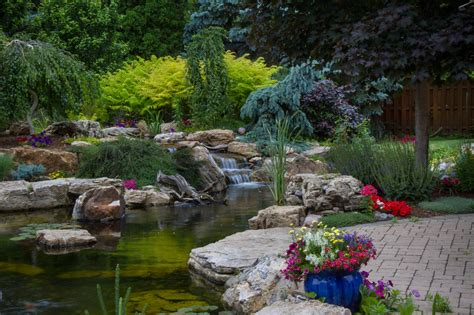 aquascape patio pond ndh aquascapes pond installation maintenance repair in