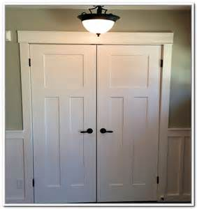5 Panel Hollow Core Interior Doors Double Closet Doors Roselawnlutheran