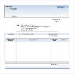 Sample Microsoft Invoice Template   14  Download Free