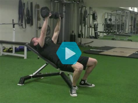 low incline bench press low incline dumbbell bench press images
