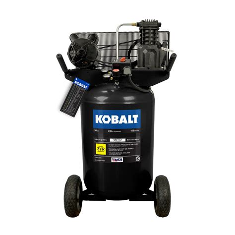 Stand Galon Air shop kobalt 30 gallon portable electric vertical air