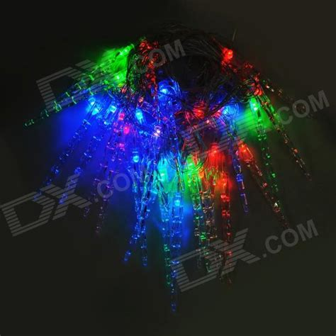 strobeing icicle lights at universal studios christmas decorations 3w 30 led colorful decorative string light transparant us free shipping dealextreme