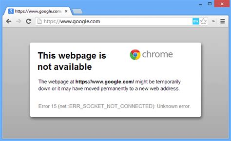 chrome error fix cannot open google or gmail in chrome due to socket