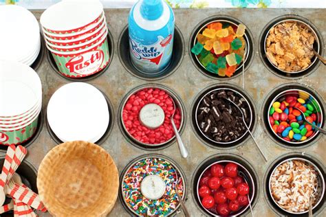 sundae bar topping ideas 20 fun food bars to recreate at home