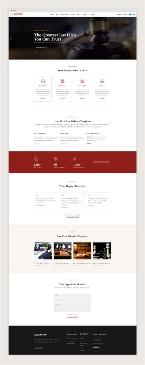 bootstrap themes lawyer law bootstrap website templates free download jitu chauhan