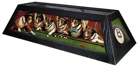 pool dogs pool table light with black frame cuesight com