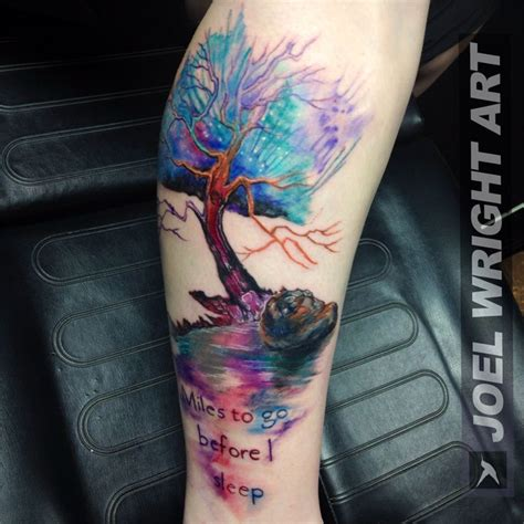 watercolor tattoo joel wright 25 trending watercolor tree ideas on