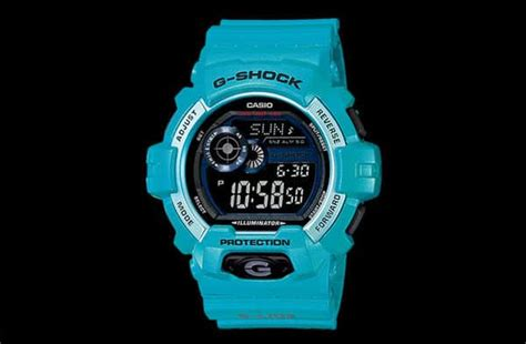 Casio G Shock Gls Black Huruf Blue casio g shock gls 8900 watches unfinished