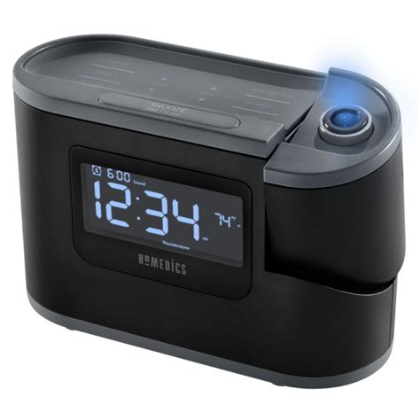 homedics soundspa 174 recharged projection alarm clock