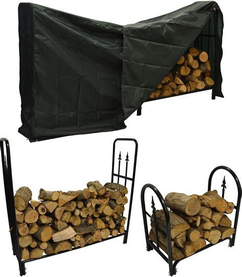 decorative fireplace log holder hausen decorative wood rack stand log holder storage store ebay