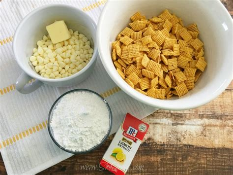 puppy chow ingredients delicious lemon puppy chow mix recipe