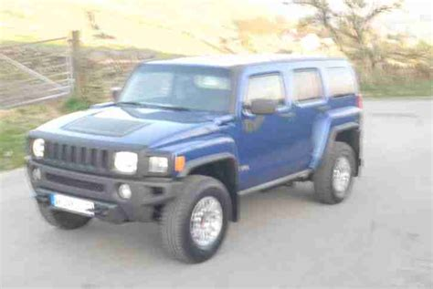 hummer 7 seater for sale hummer 2009 h3 64k blue alloys air con cheapest in the uk