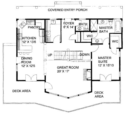 2610 square feet 3 bedrooms 2 189 batrooms on 2 levels cabin style house plan 3 beds 2 5 baths 2610 sq ft plan
