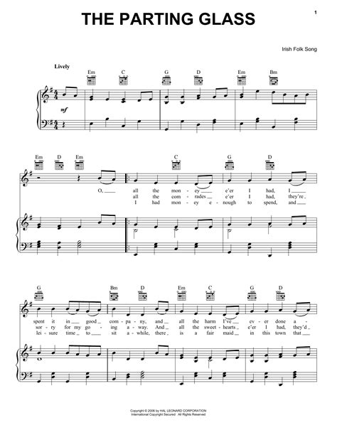 download mp3 ed sheeran the parting glass the parting glass sheet music by irish folksong piano