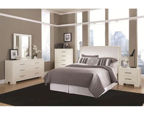 jessica bedroom set coaster jessica bedroom set in white co 202999set