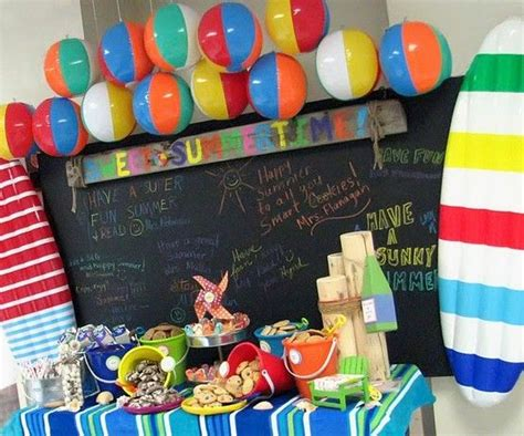 party themes end of summer 16 best images about classroom party ideas on pinterest