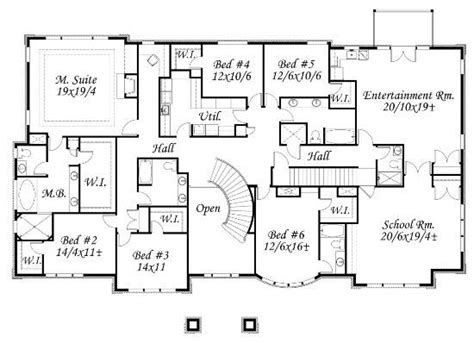 draw house plans in suite home plan 6 bedrms 6 5 baths 8817 sq ft