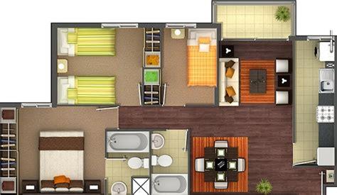 planos de apartamentos de 3 habitaciones - Apartamento De 3 Habitaciones
