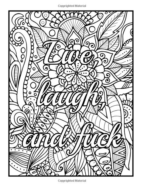 coloring pages swear words adult coloring pages quotes swear words free adult