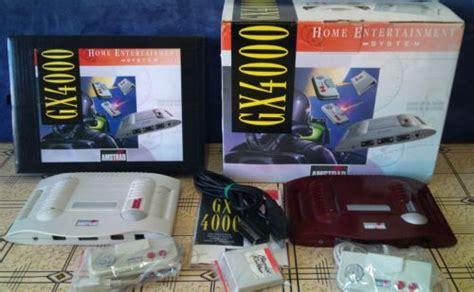 amstrad console retro treasures the complete amstrad gx4000 console