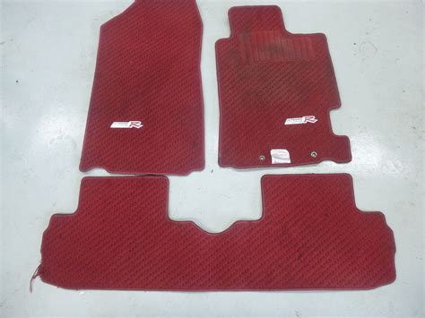 Integra Type R Floor Mats by Honda Integra Dc5 Type R Floor Mat Set J048 Jdm
