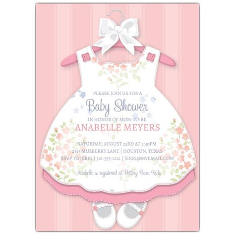 Baby Shower For 4th Child by Baby Dress Invitations Paperstyle