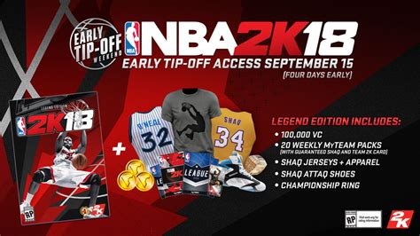 Nba 2k18 Legend Edition Ps4 Murah a complete guide to nba 2k18 s preorder bonuses ign