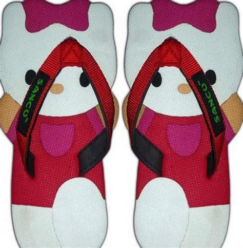 Sancu Sandal Lucu Monyet Coklat grosir sandal lucu sancu