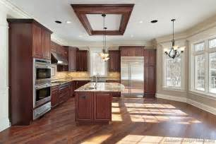 Kitchens With Cherry Cabinets And Wood Floors Pictures Of Kitchens Traditional Medium Wood Kitchens Cherry Color Page 3