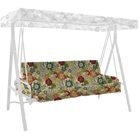 swing cushions shop arden outdoor bloomery swing cushion with armrests