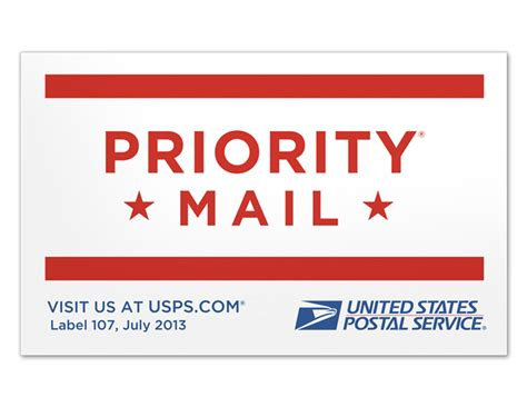 printable priority mail label priority mail sticker
