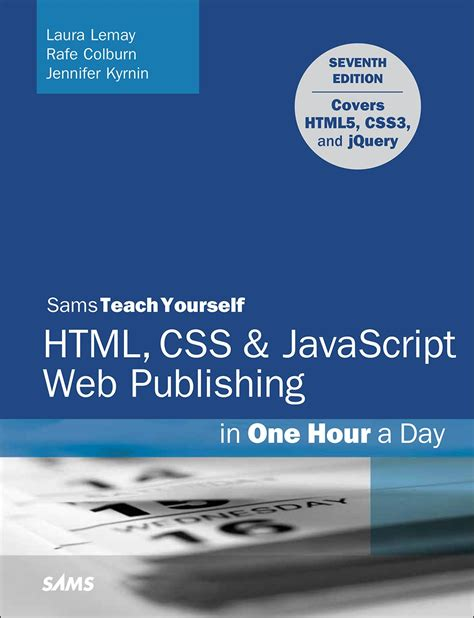 format html css js html css javascript web publishing in one hour a day