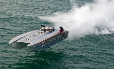 offshore cat boats 187 qatar team launching offshore caign this month in