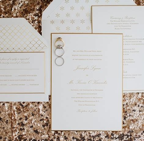 Sugar Paper Wedding Invitations by The Dandelion Patch Wedding Invitation