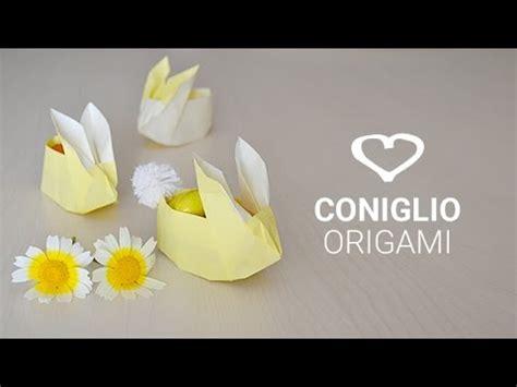 tutorial origami coniglio il coniglietto pasquale origami l arte di piegare l