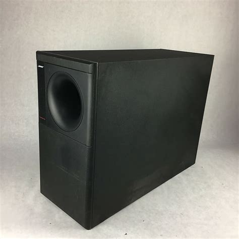 bose subwoofer acoustimass  series home theater speaker