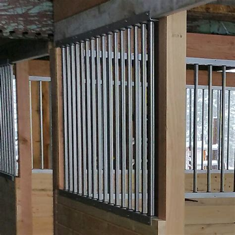 horse stall grill sections horse stall grill bar ramm horse fencing stalls