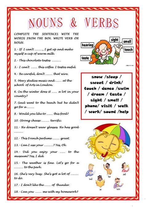 printable pictures of nouns related keywords printable