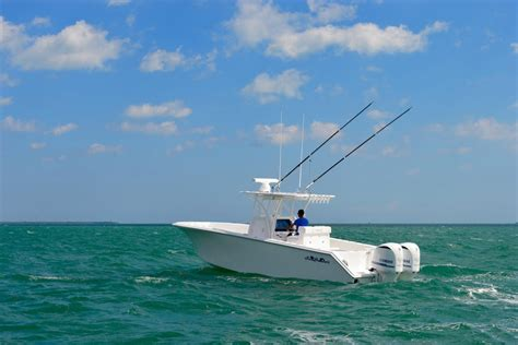 fishing boat sea hunter seahunter 31 boat builder customize your offshore