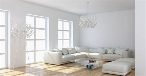 white living room furniture modern house