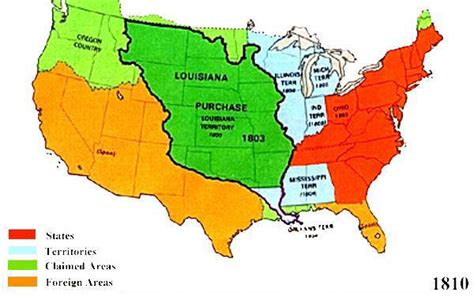 map of united states territories before the doctrine the doctrine a radical