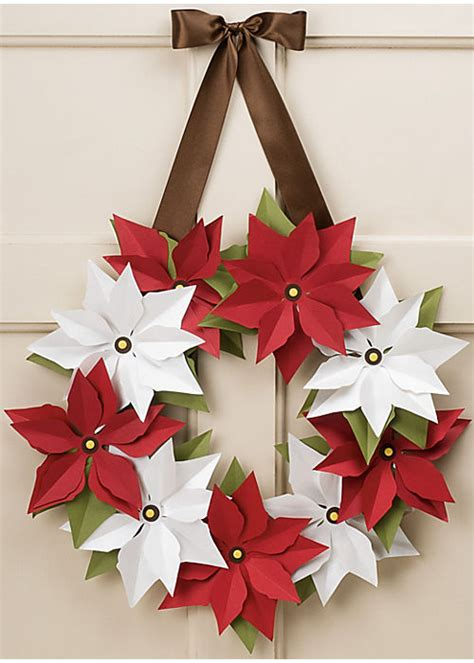 How To Make A Wreath Out Of Paper - 30 beautiful paper decorations ideas
