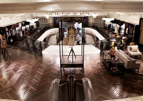 Inside Burberry's London Flagship Store   Pursuitist